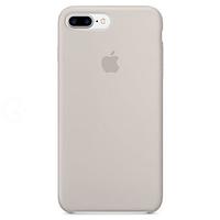 Силиконовый чехол - Silicone Case iPhone 7+/8+ Слоновая кость (Antique White)