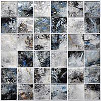 Стеклянная мраморная мозаика для ванной, кухни, гостинной, магазина MSR-3028