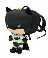 Рюкзак детский Batman Ridaz -EVA Original плюшевый black унисекс Супергерои 0.8 кг 5 л (iTRB)
