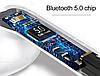 Беспроводные блютуз наушники TWS i18 5.0 Bluetooth гарнитура с кейсом подзарядки сенсорное управление, фото 5