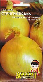 Семена Лук Стригуновский 3г Золотистый (Малахiт Подiлля)