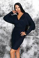 Платьес очень тёплой ангоры супер качества, глубокий вырез, высокие манжеты с пуговками