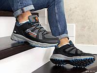 Мужские кроссовки Columbia Montrail (серо-черные) 8879