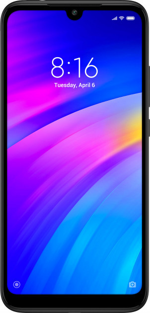 "Смартфон Xiaomi Redmi 7 2/16Gb black  6.26"" RAM: 2Gb ROM:16Gb Octa-core ЕВРОПА"