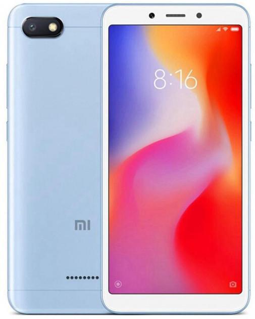 """Смартфон Xiaomi Redmi 6a 2/16Gb blue EU 5.45"""" RAM: 2Gb ROM:16Gb Octa-core ЕВРОПА"""