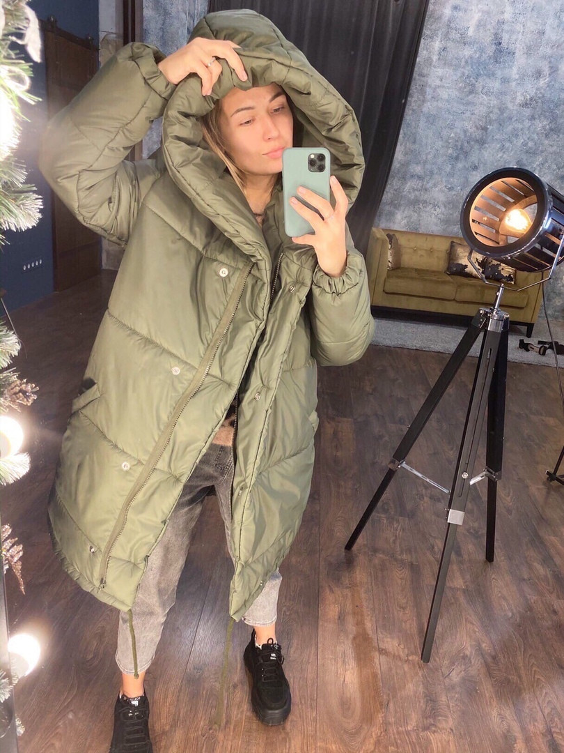 """Очнь теплая зимняя куртка """"ЗАФИРКА"""" на селиконе, (7расцв) от42-до46р."""