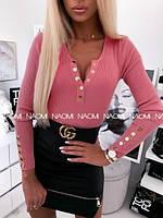 Женская модная кофточка рибана, фото 1
