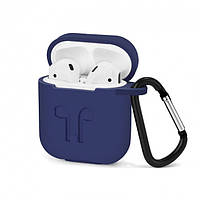 Чехол-накладка для наушников DOITOP AirPods Case Silicone Blue