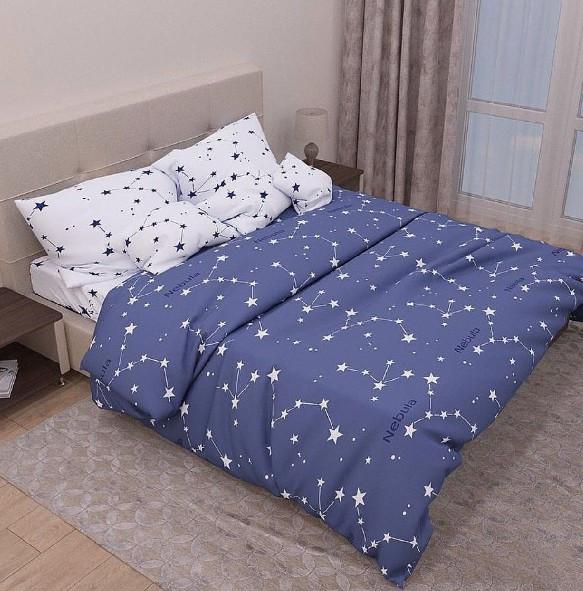 фотография постельное белье с созвездиями