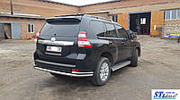Toyota Prado 150 (09+) защитная дуга защита заднего бампера на для Тойота Прадо 150 Toyota Prado 150 (09+) d60х1,6мм