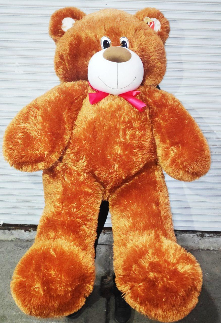 Огромный коричневый плюшевый медведь мягкая игрушка большой мишка Тедди 1.6 метра