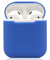 Силиконовый чехол-накладка Apple AirPods 2 Голубой