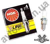 Свеча зажиг. V-LINE 4 (BP6E 5637) ВАЗ 2101, 2106, 2107      4764