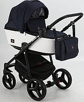 Дитяча універсальна коляска 2 в 1 Adamex Barcelona BR-203