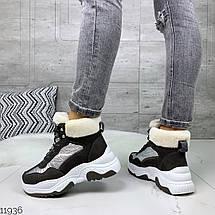 Теплые зимние кроссовки женские, фото 3