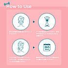 Lululun Pink Увлажняющая тканевая маска для лица, 7 шт (108 мл эссенции), фото 3