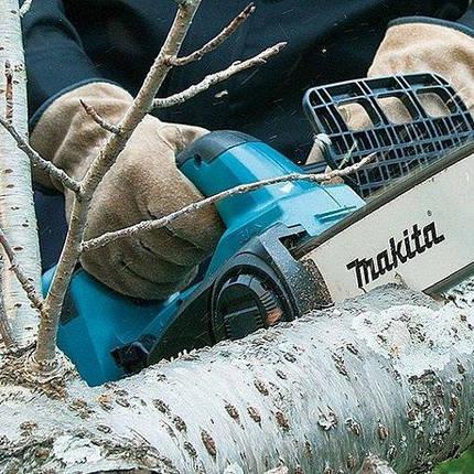Пила цепная аккумуляторная Makita 300мм DUC302Z (БК), фото 2