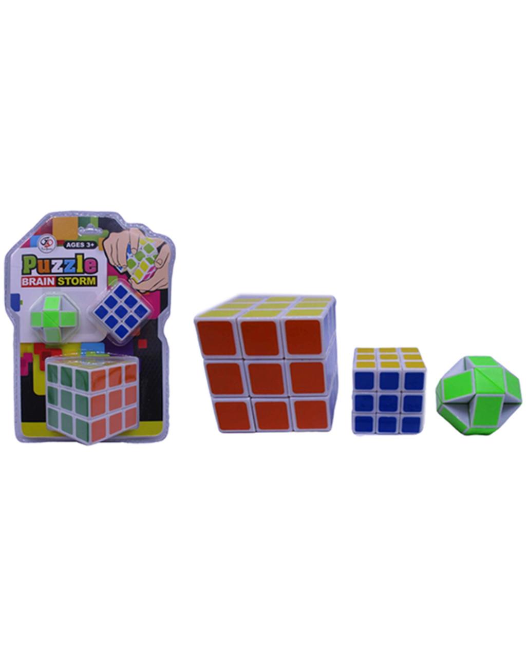 "Конструктор набор ""Кубик Рубика"" 55 мм и 35 мм 2шт"