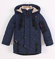 Зимняя куртка (парка) на мальчика на овчине. Р. 26-36. Супер качество!
