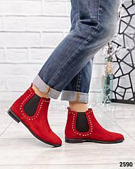 """Демисезонные ботинки"""" Челси"""" с декором"""