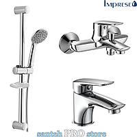 Набор смесителей для ванны IMPRESE PRAHA NEW 3 в 1