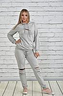 Спортивный костюм с отделкой молнии на коленях и груди, с 42 до 74 размера, фото 1