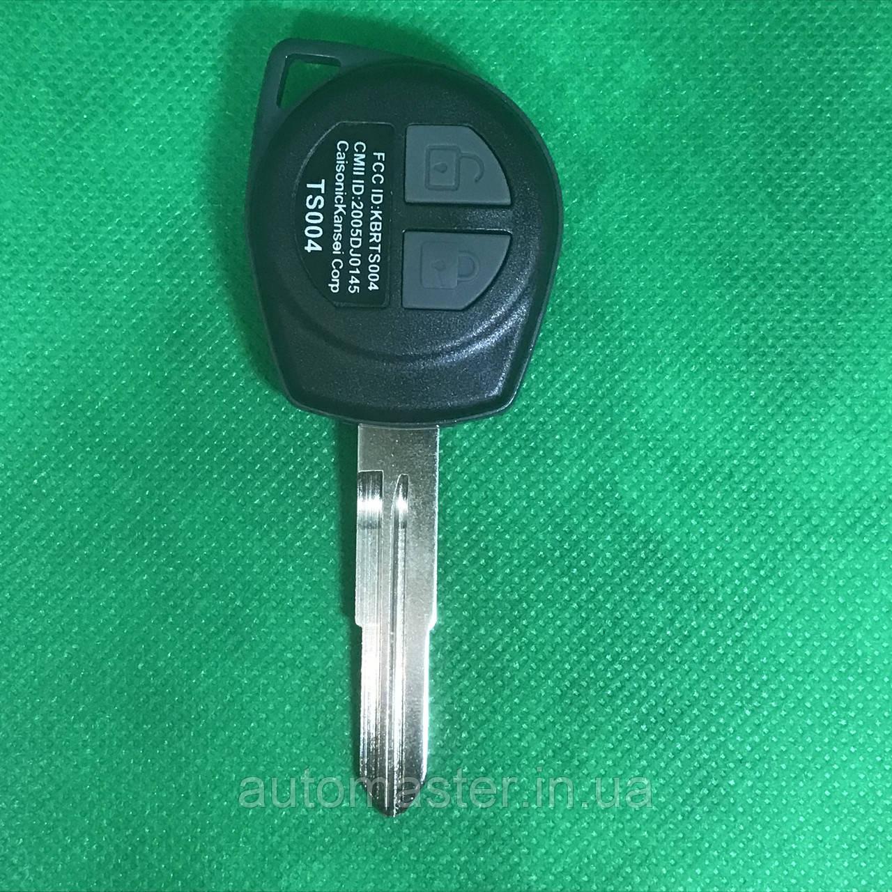 Автоключ для SUZUKI (Сузуки) SX4   2 - кнопки с чипом ID46(7936) и микросхема 433 MHZ