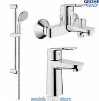 Набор смесителей для ванны GROHE BAULOOP 3 в 1
