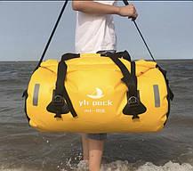Презиненновая багажная Сумка батон на мото туристическая для путешествий мотосумка, фото 3