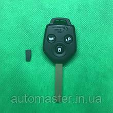 Автоключ для SUBARU (Субару) 3 - кнопки, лезвие DAT17, 4D62, 433 Mhz