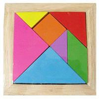 Деревянная головоломка мозаика  sco