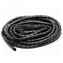 Спиральная обвязка SWB 19 (10м / в упаковке) Чорний
