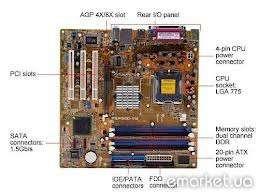 Материнские платы ASUS P5P800-VM (ddr1/встроенное видео), s775