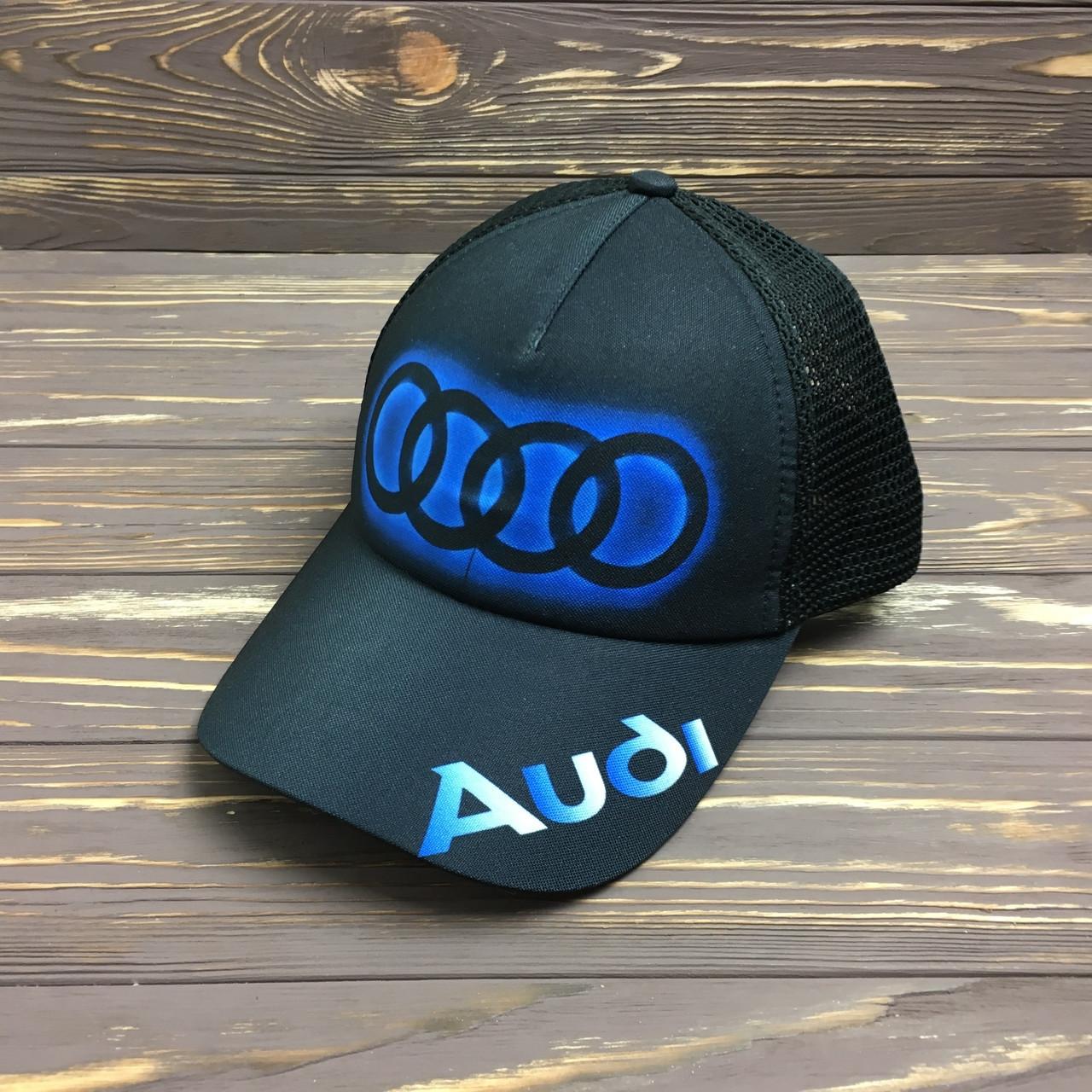 """Кепка с сеткой """"Audi"""""""