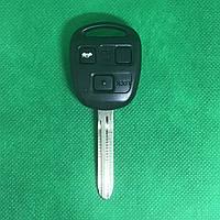 Автоключ для Toyota (Тойота) 3 - кнопки, лезвие TOY 43, 433 Mhz , 4D68 chip