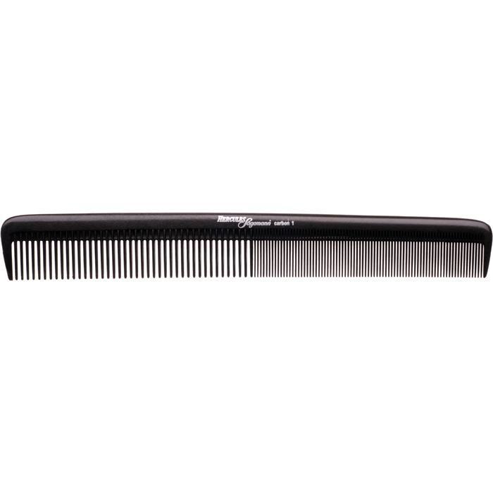 """Расческа Hercules Sagemann Carbon Comb 8,5"""" HS C1 карбоновая"""