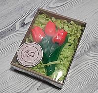 Мыло Букет тюльпанов 2д