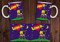 "Чашка ""Love is"" №1"