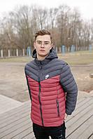 Спортивная мужская куртка Nike 1905 бордо, фото 1