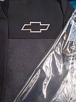 Чехлы для Chevrolet Aveo (х/б) 2002 - 2011  - Prestige