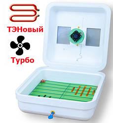 Инкубатор механический Рябушка Турбо 70 яиц вентилятор, цифровой