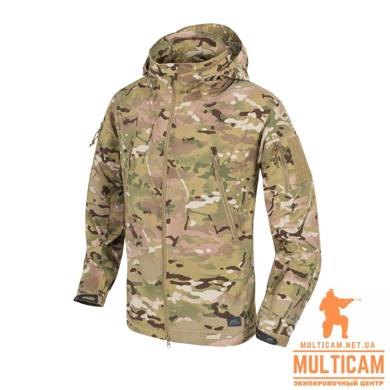 Куртка Soft Shell Helikon-Tex® TROOPER Jacket - StormStretch® - Camogrom®