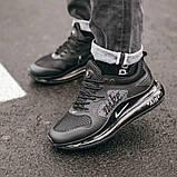Чоловічі кросівки Nike Air New Max 720 Black, фото 4