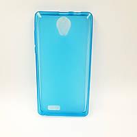 Чехол-бампер TPU силикон для матовый Prestigio PSP3509 Wize E3 DUO Синий