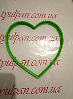 Вырубка кондитерская для пряника сердце 6см