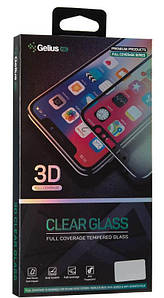 Защитное 3D стекло на Huawei Honor 10i черное Gelius Pro 3D с полным покрытием экрана телефона.