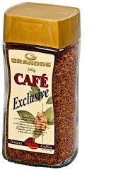 Кофе Грандос Эксклюзив растворимый сублимированный 200 грамм в стеклянной банке