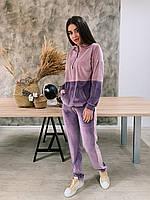 Спортивный костюм  К 00552 с 03 фиолетовый