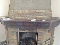 Облицовка камина гранитом , мрамором Днепр
