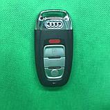 Корпус смарт ключа для американских Audi А3, А4,A4l, А5, А6, А7, А8, Q3, Q5, Q7 (Ауди) 3 - кнопки + Panic, фото 2